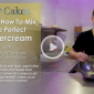 Learn How To Mix The Perfect Buttercream