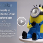 Create a 3D Minion Cake with Sugar Goggle