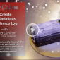 Create A Festive Christmas Log