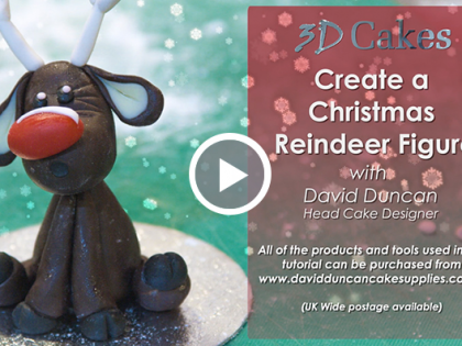 Christmas Reindeer Figure Tutorial
