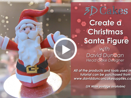 Christmas Santa Figure Tutorial