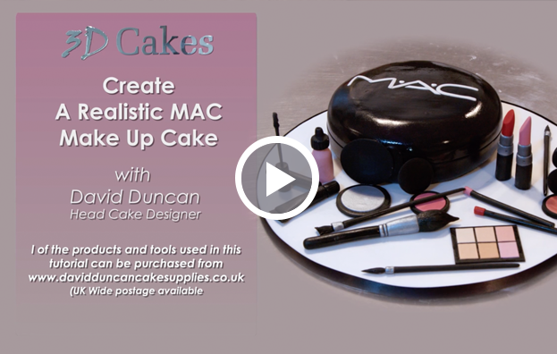 Realistic MAC Make Up Cake